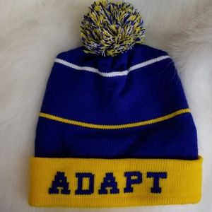 Adapt Accessories - Warriors GSW gold blooded adapt beanie 030817ac809